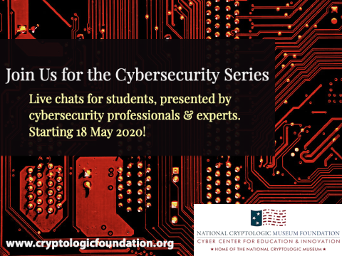 Students, Teachers, Parents - Join us for our online Cyber Chats!