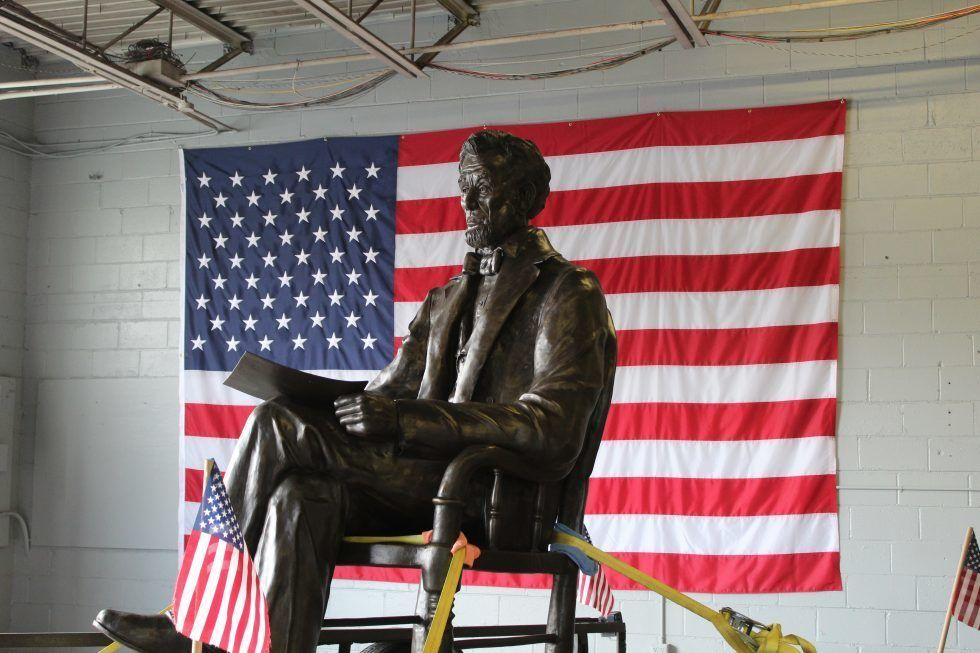 Lincoln Statue Moved to Dayton