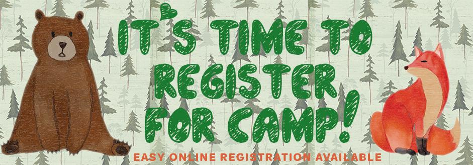 2018 camp registration reminder