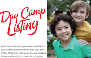 BR Parents Magazine Summer Camp Listing