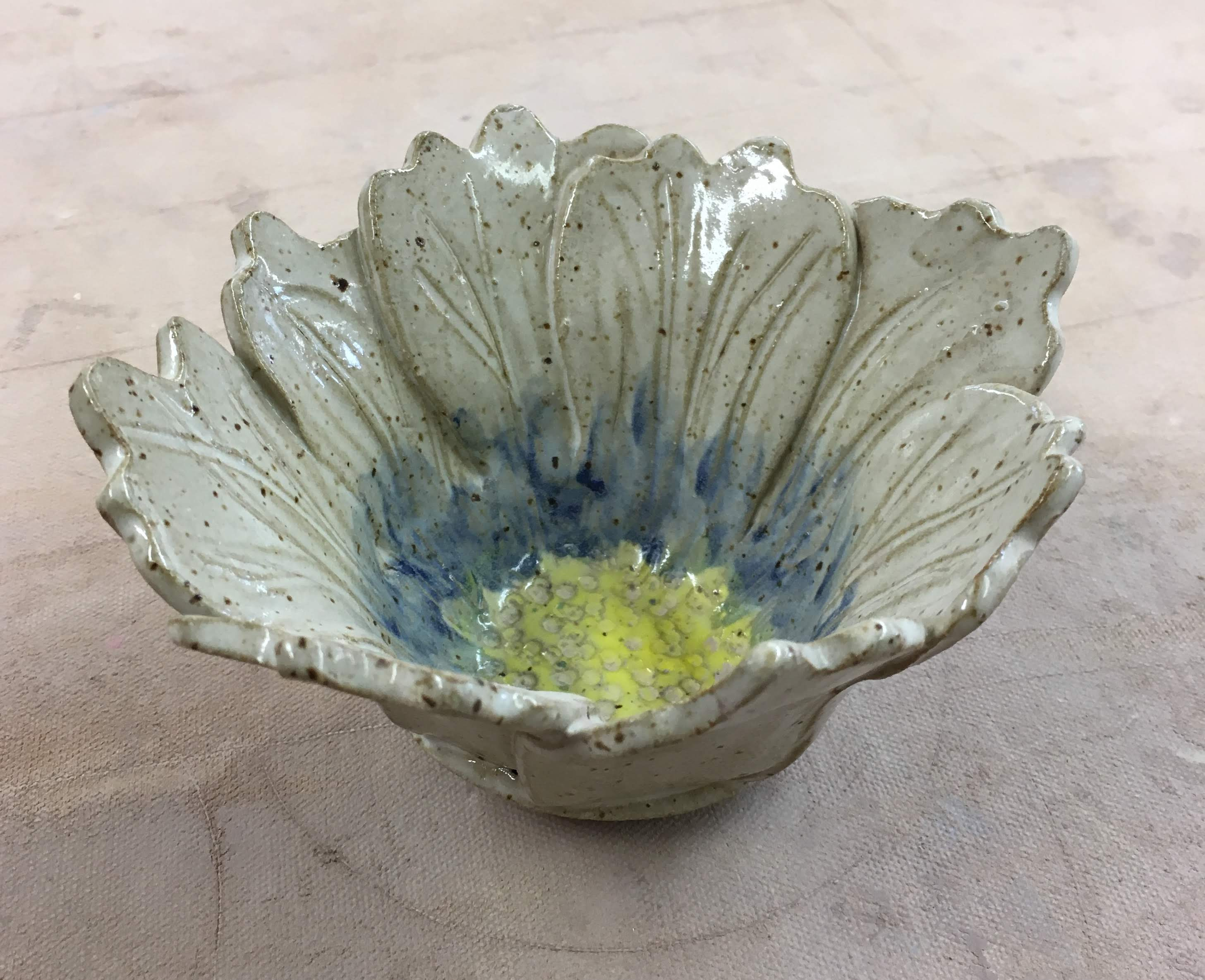 Flower Bowl Clay Workshop