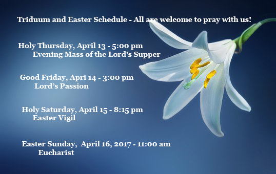 Join Us in Prayer - Holy Week