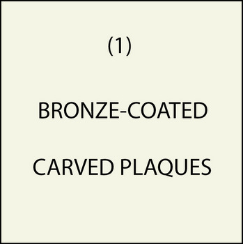 M7002 - (1). Bronze-Coated Plaques