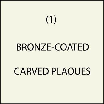 M7002 - (1). Bronze-Coated Plaques