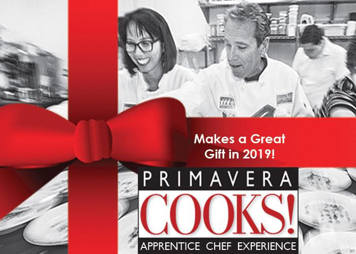 Gift a Primavera Cooks! Apprentice Chef Experience