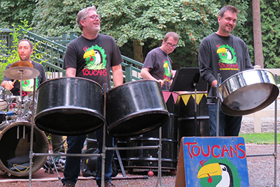 THE TOUCANS AND THE BALLOON MAN – FUN! - August 13