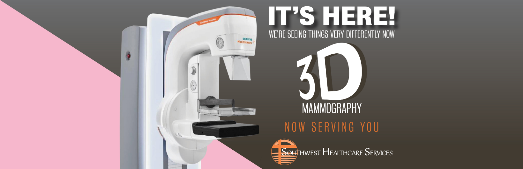 3D Mammo IT'S HERE