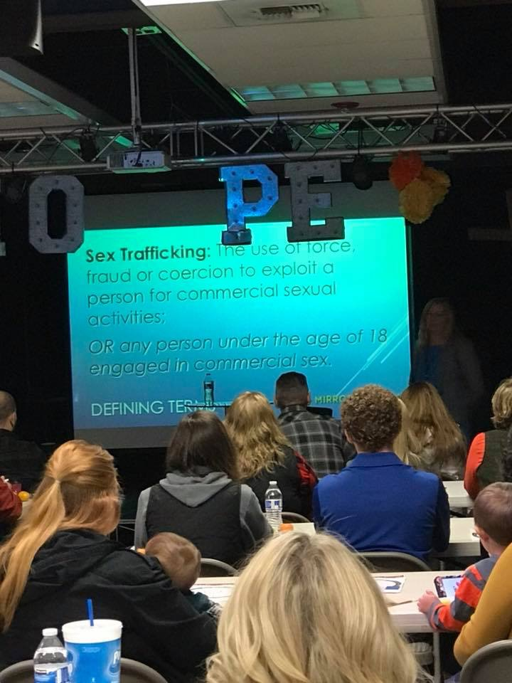 Training the community to recognize trafficking