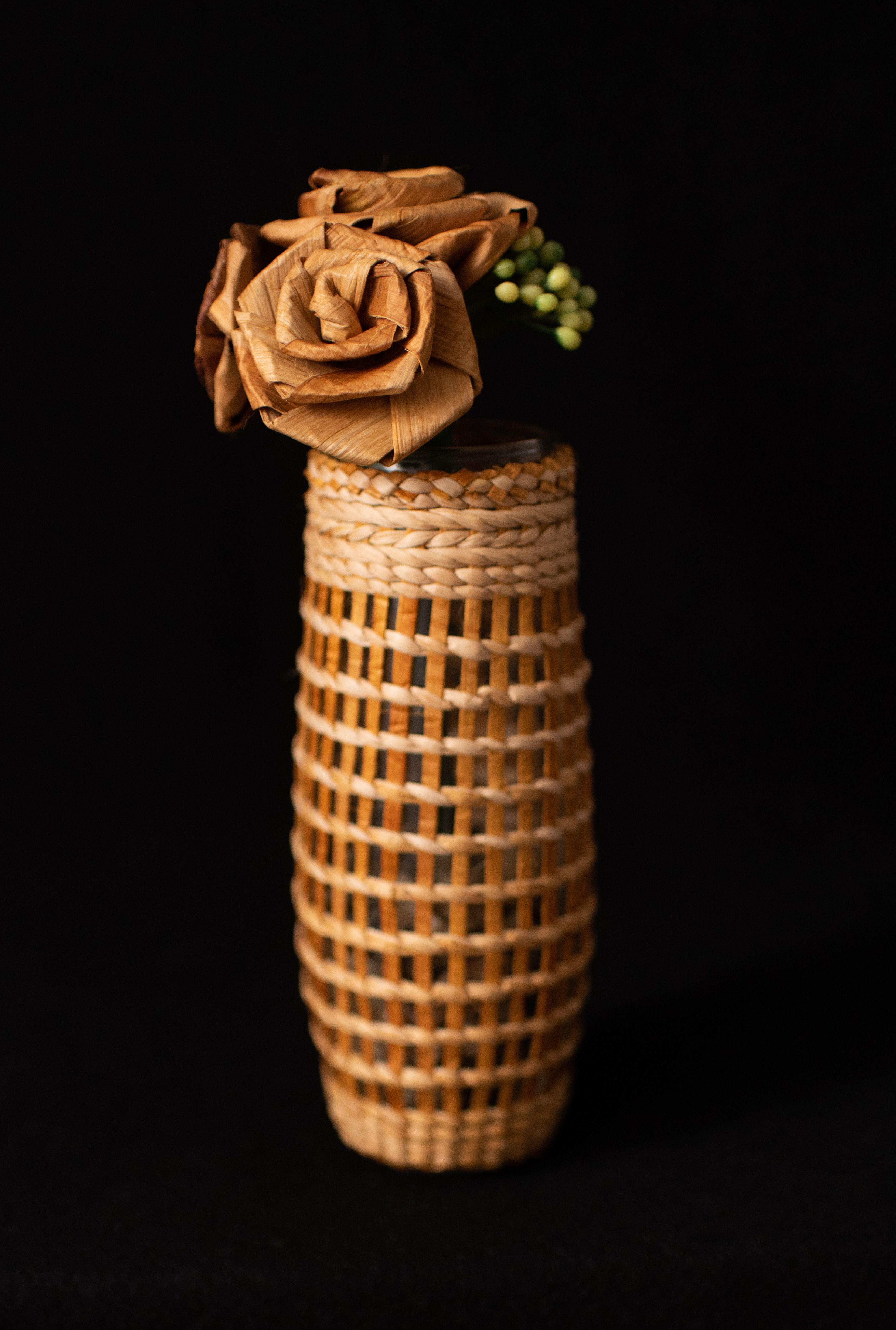 Cedar Flower Vase