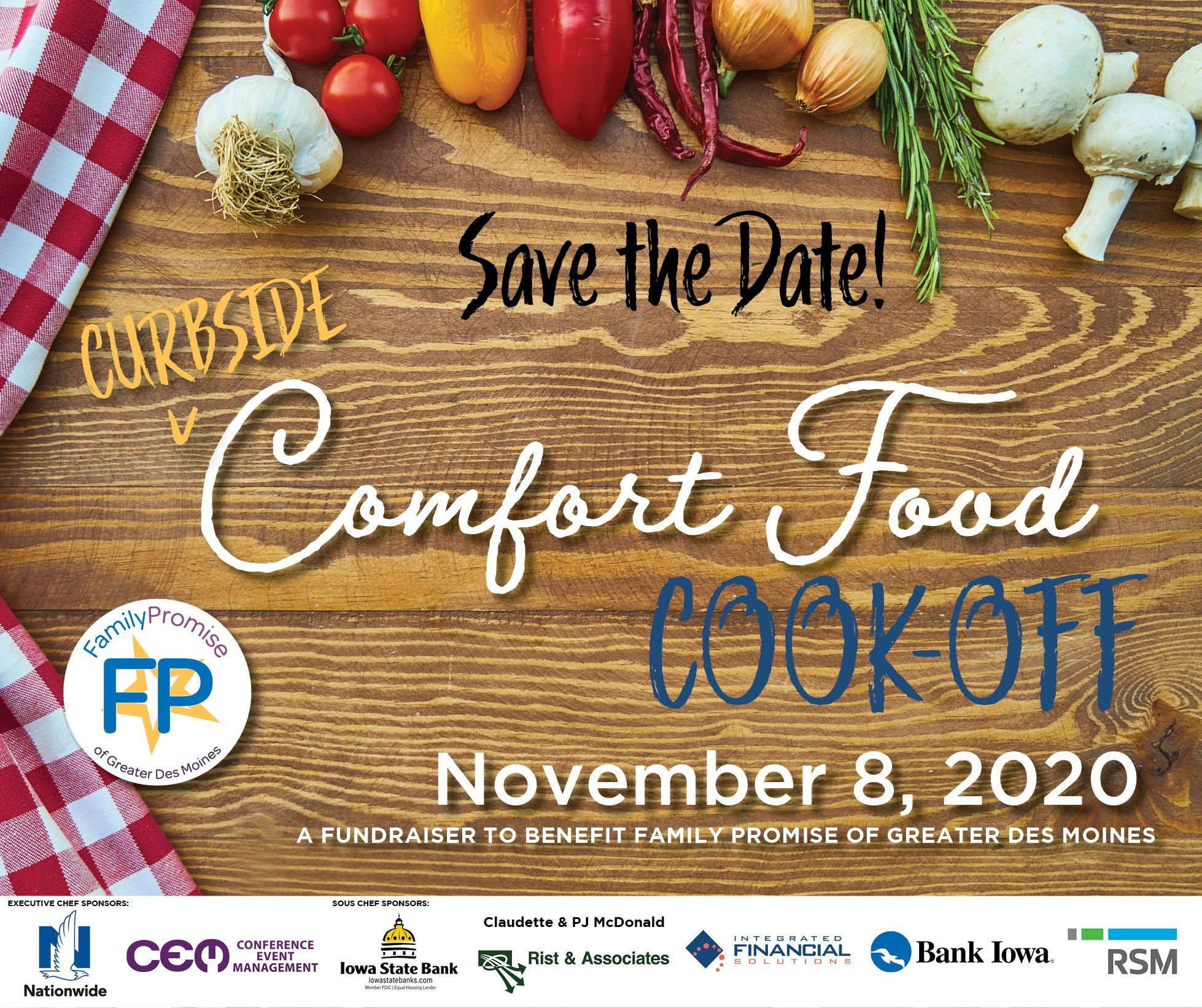 (Curbside) Comfort Food Cook-Off