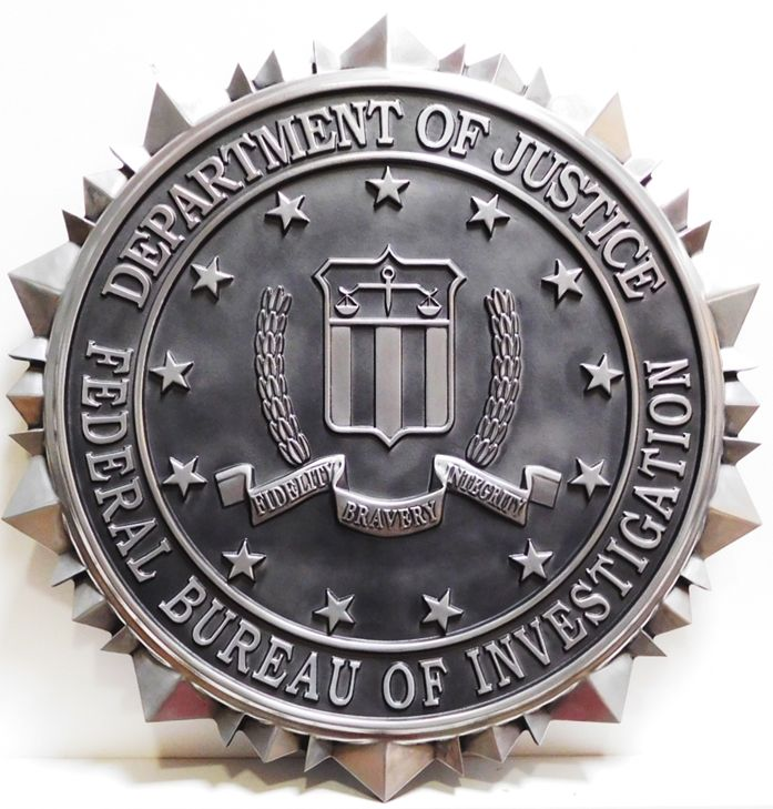 MD4036 - Seal of the Federal Bureau of Investigation (FBI), 3-D
