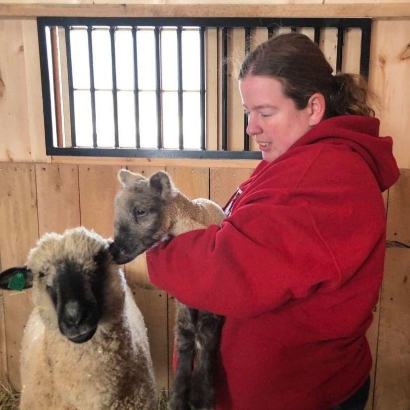 Megan Fimbel, Livestock Farmhand