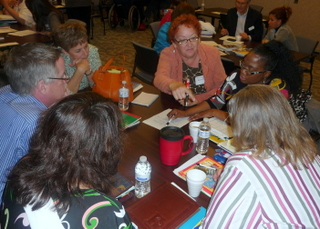 Literacy providers discuss adult education issues