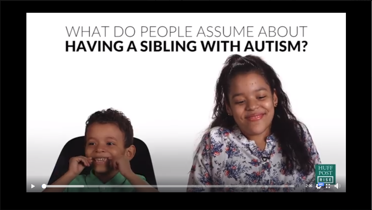 What it's like having a sibling with autism