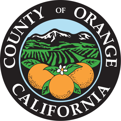 X33374 -  Seal of Orange County,  California