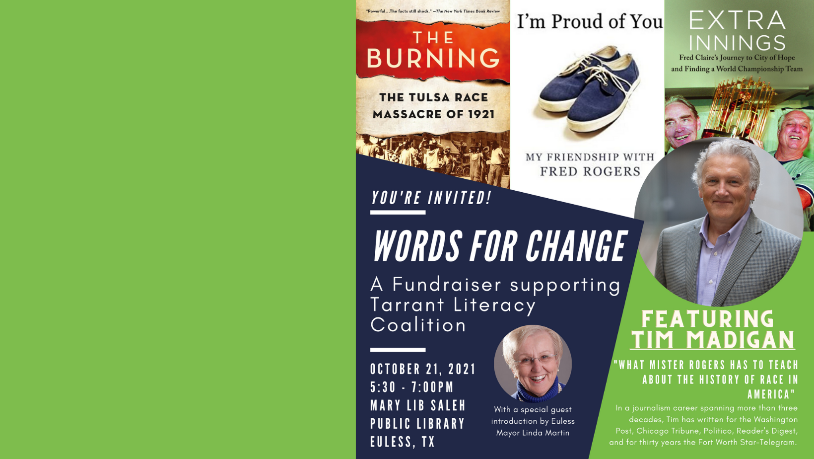 Words for Change | Fundraiser Supporting Tarrant Literacy Coalition