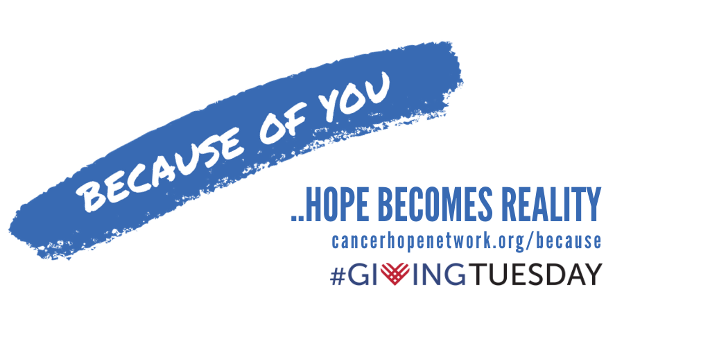 Because of you....Giving Tuesday 2019