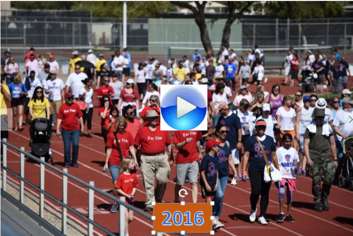 2016 SSBTR Walk-a-thon Video