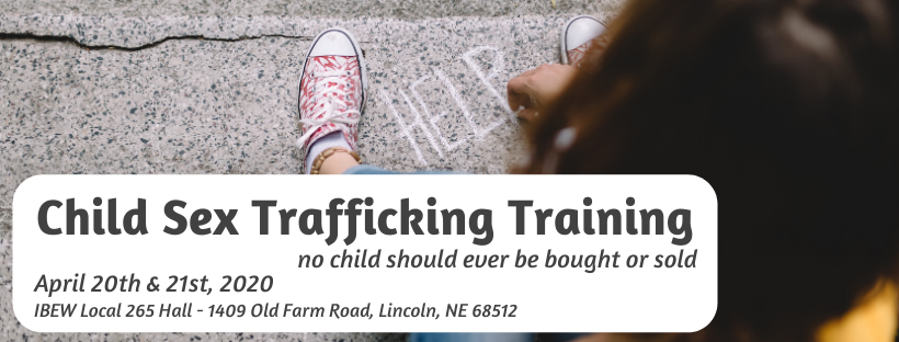 Child Sex Trafficking Training: Day One