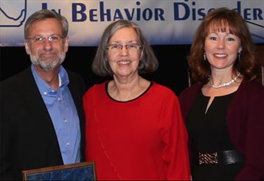 Tim Lewis with Sharon Huntze, & Barbara Mitchell