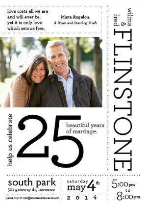 Milestone Wedding Anniversary