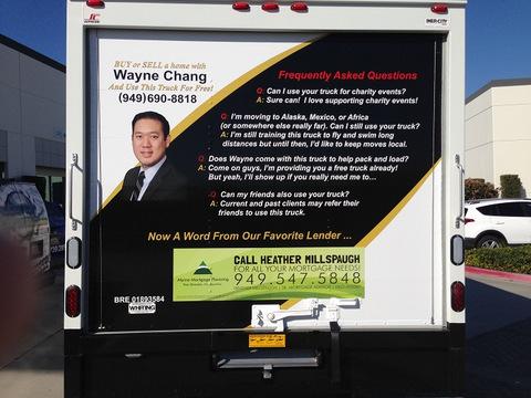 Vinyl Box Truck Wraps Orange County