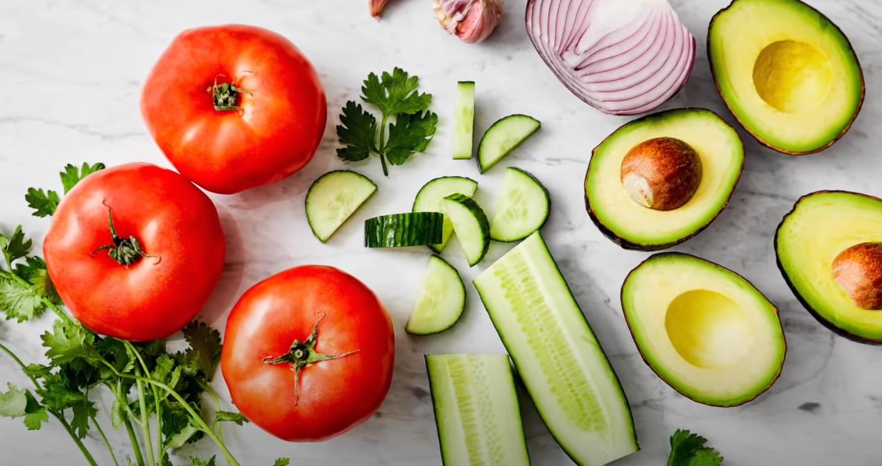 Tomato Cucumber Salad