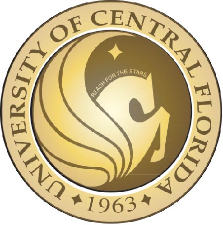 Y34380 - Carved 2.5-D HDU (Flat Relief)  Wall Plaque of the University of Central Florida