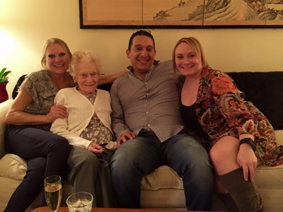Barbie, Mom, Daniel and Courtney