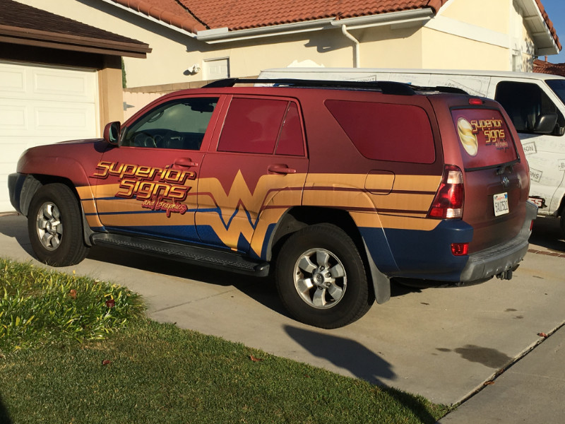 Toyota 4-Runner Matte Finish Vehicle Wraps | Buena Park CA