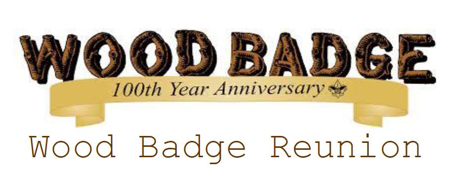 Wood Badge Reunion