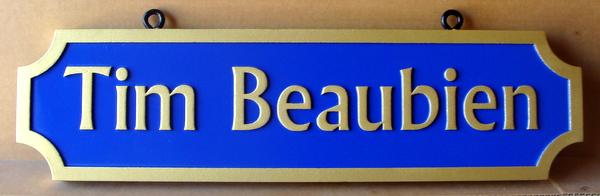 I18303 - 2.5-D Carved Residence Name Sign