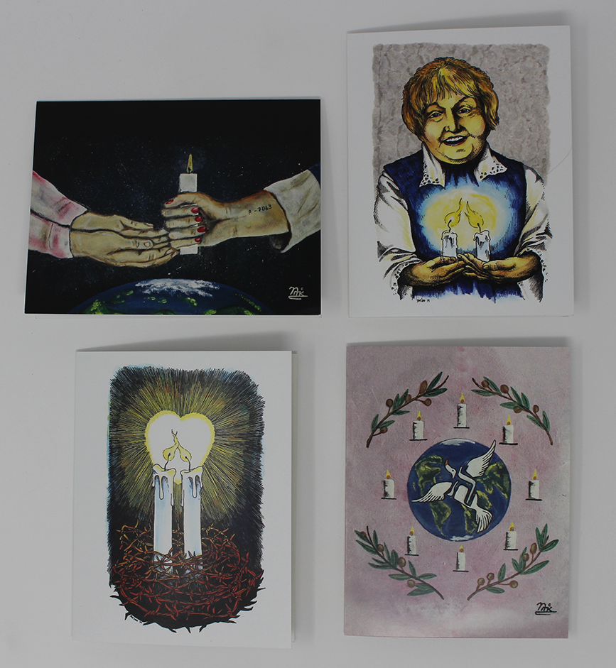 *Limited Edition* CANDLES 25th Anniversary Cards (Set of 4 with envelopes)