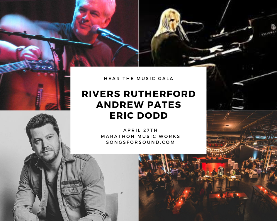 RIVERS RUTHERFORD, ANDREW PATES & ERIC DODD perform at the HTM Gala 2019!