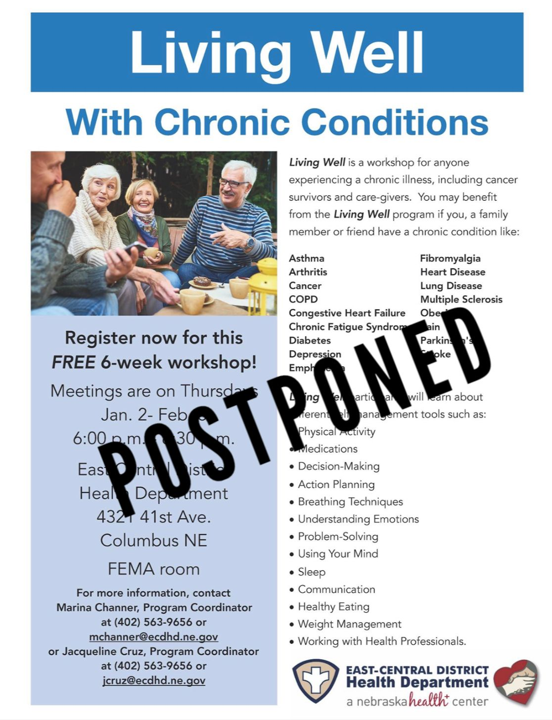Living Well with Chronic Conditions