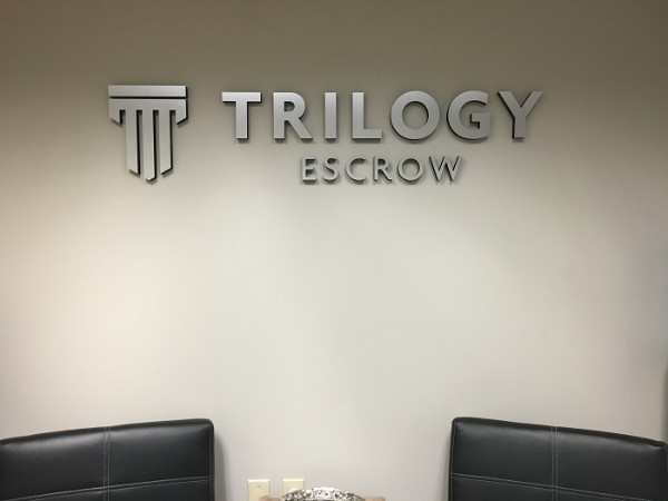 Professional Lobby Signs for Escrow Companies in Orange County CA