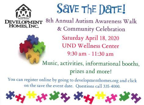 8th Annual Autism Awareness Walk and Community Celebration