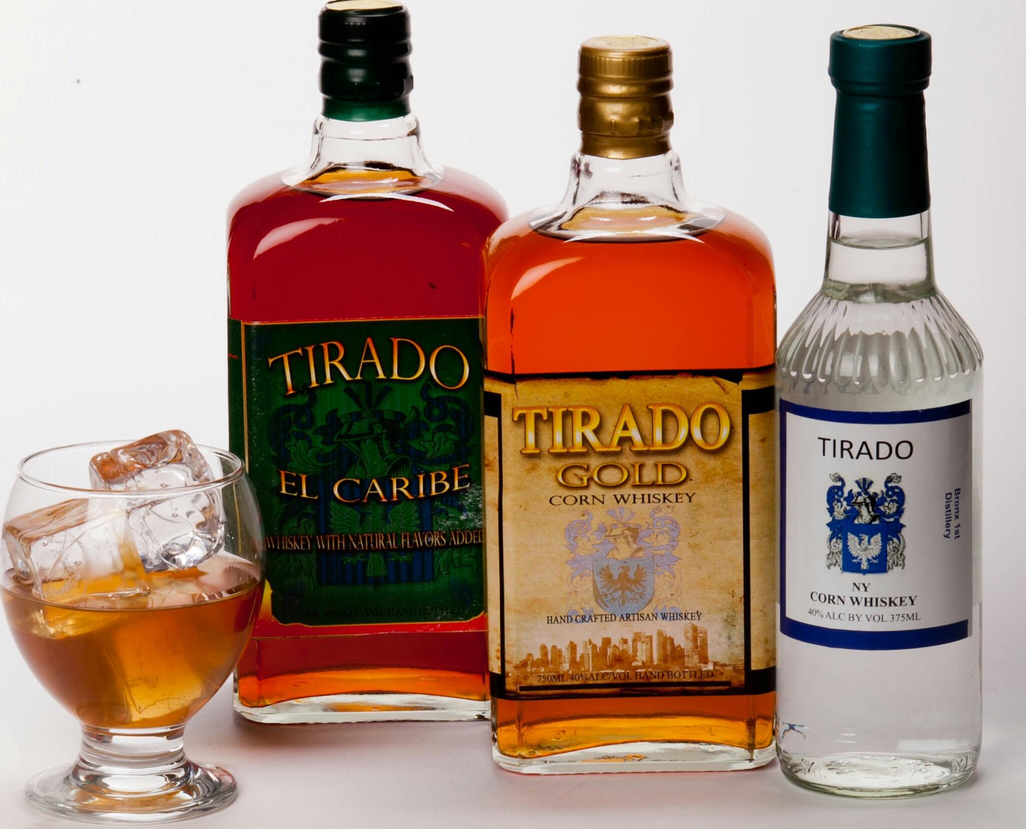 Tirado Distillery Tasting