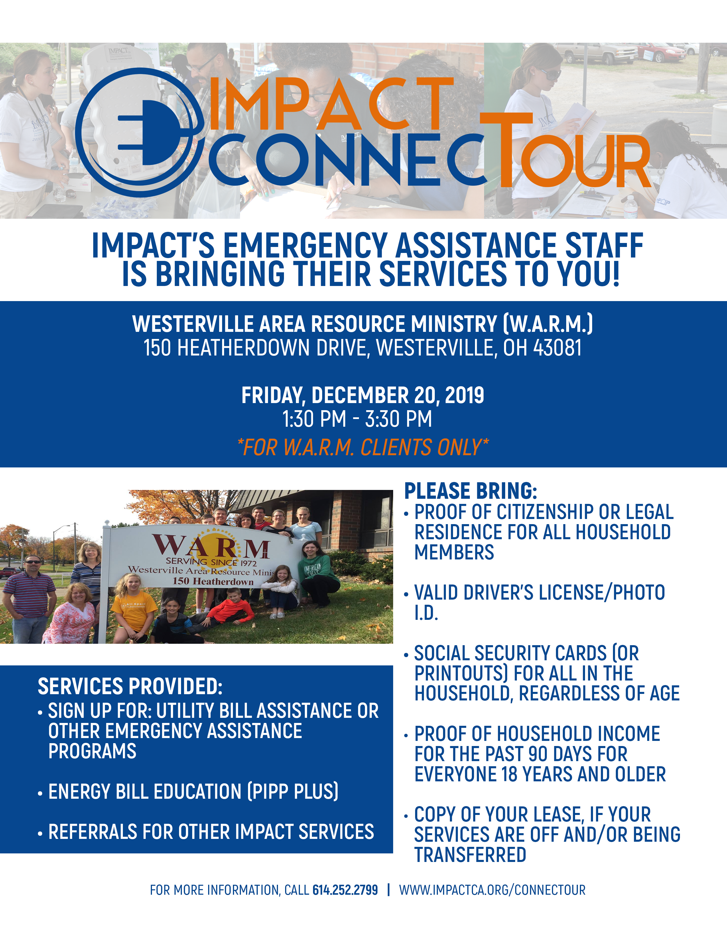 IMPACT ConnecTour (For W.A.R.M. Clients Only)