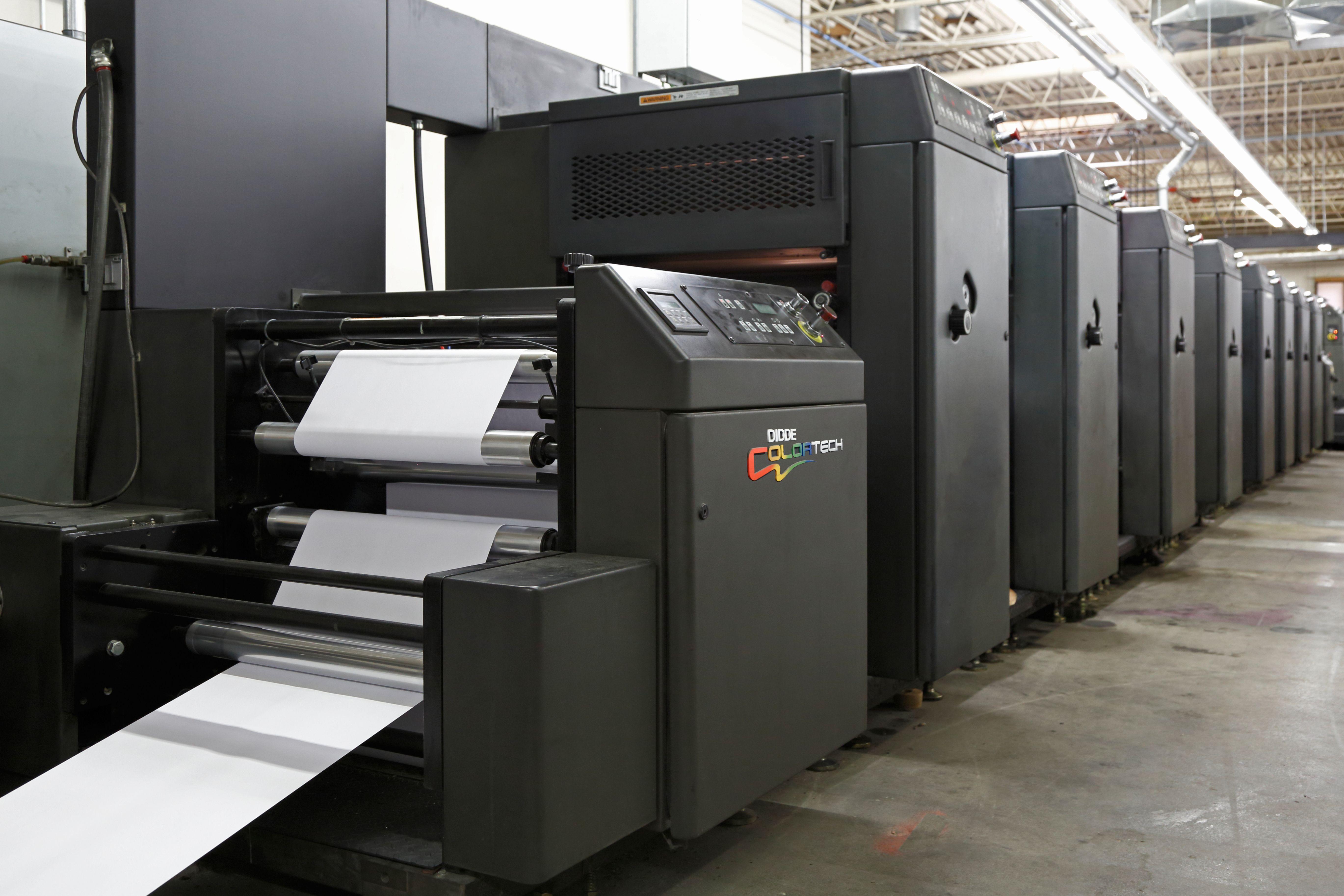 Direct Mail Web Printing