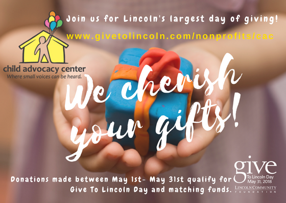Please choose the CAC for Give To Lincoln Day!