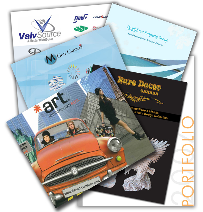picture of some catalogs