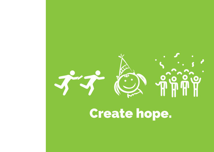 Have a party. Create hope.