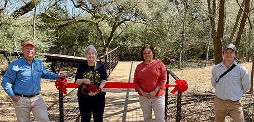 Houston Audubon Holds Ribbon Cutting Ceremony to Officially Open the Kathrine G. McGovern Canopy Walkway