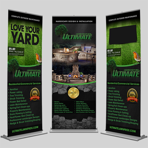 Pull Up Display Banners