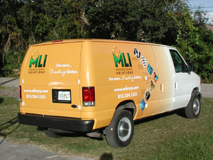 Vehicle Graphics- Vinyl & Digital