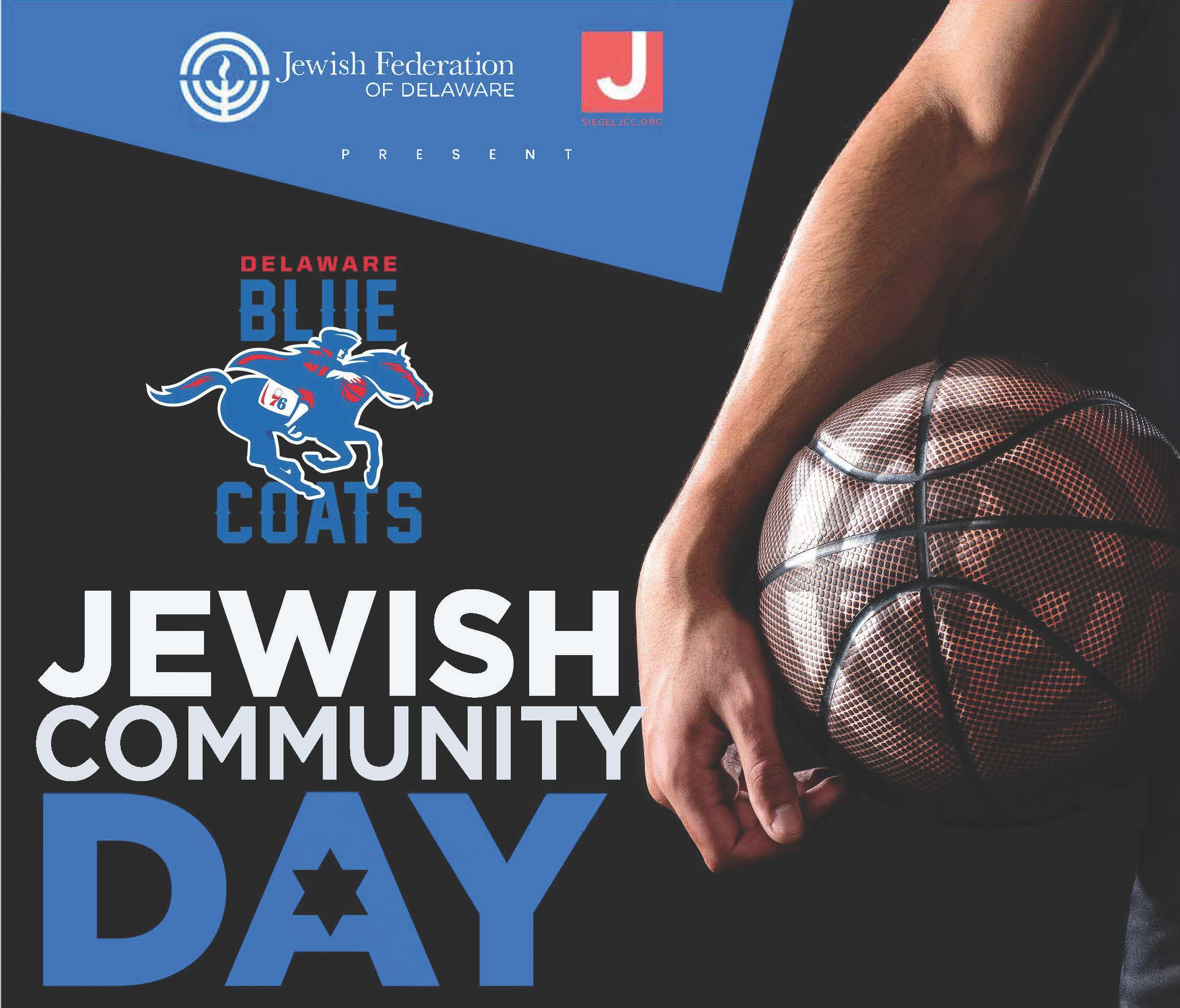 Jewish Community Day at the Delaware Blue Coats