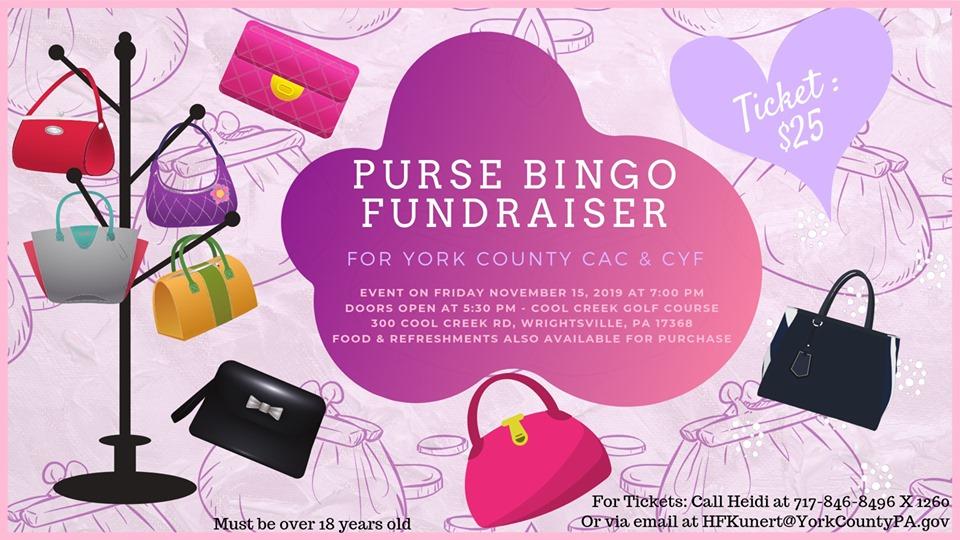Purse Bingo Fundraiser