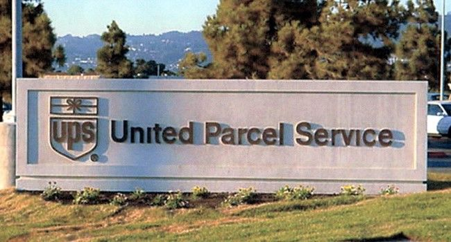 S28410- Monument Sign for United Parcel Service