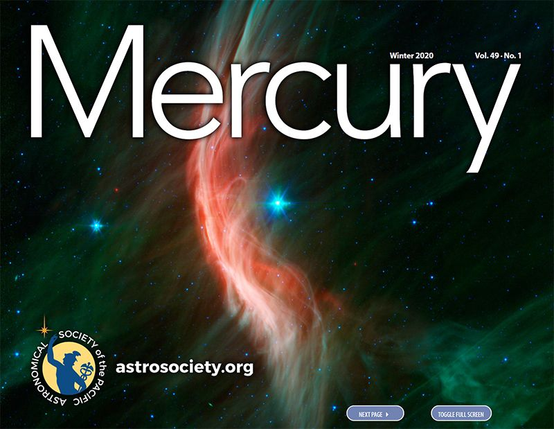 The Winter 2020 Issue of Mercury